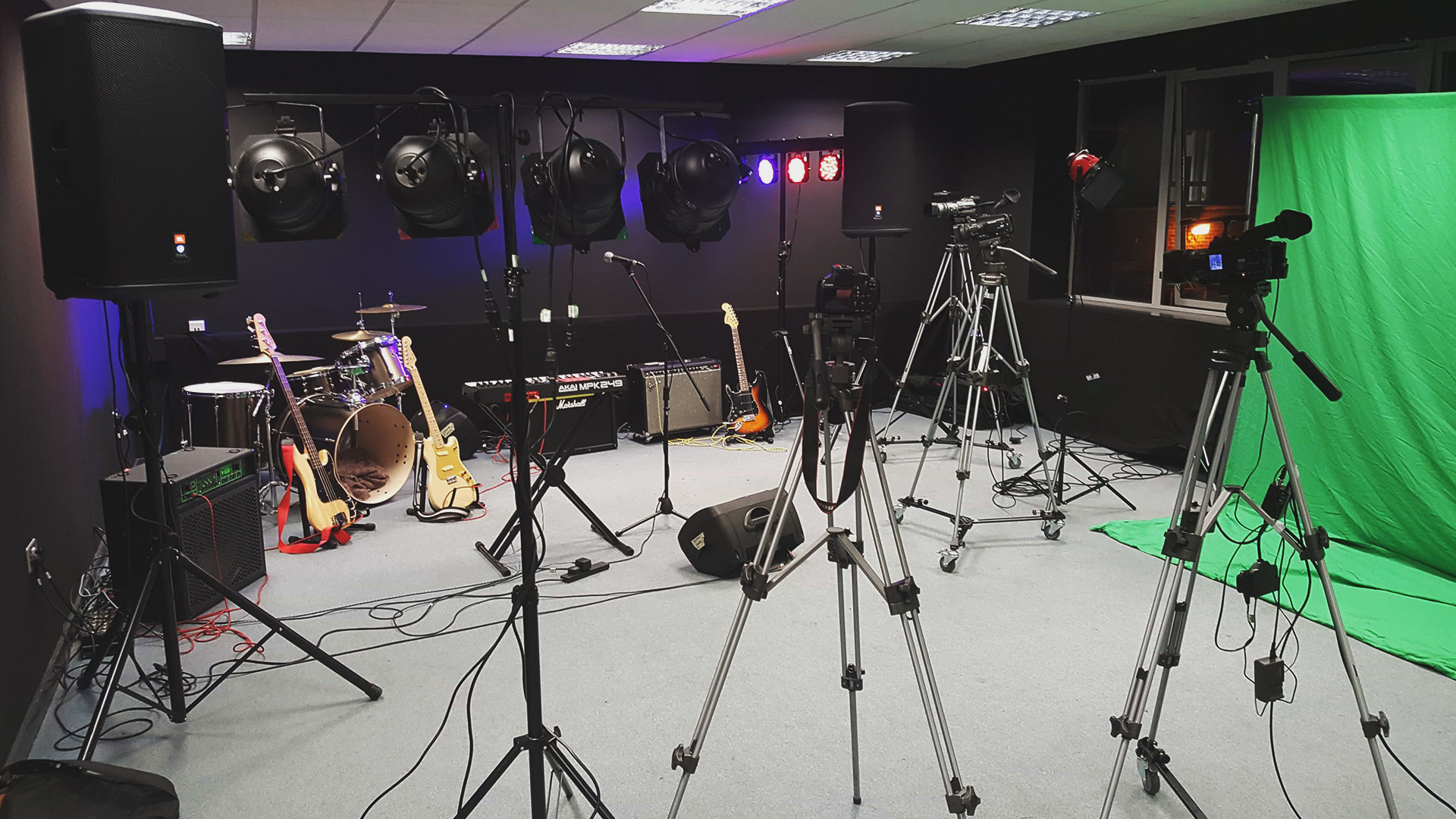 Totton College TV Studio
