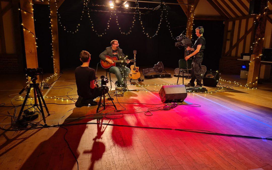 Hanger Farm Arts Centre – Charity Live Stream